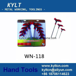 8 9 10-Piece Black Hex Key with Ring Heat Treatment pictures & photos