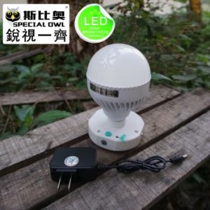5W and 12W Portable outdoor LED Bulb, High Quality LED night market Farm home Lights pictures & photos
