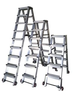 (375LBS) Aluminum Alloy Portable and 9-Step Ladder pictures & photos