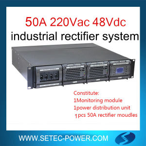 China 48V 50A DC Power Supply Rectifier System - China AC DC