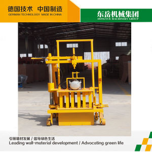 New Design Qt40-3c Hand Operated Brick Making Machine pictures & photos