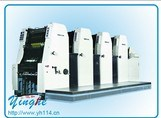 Automatic Four Color Concert Ticket Offset Press Printerf Leaflet Printing Machine pictures & photos