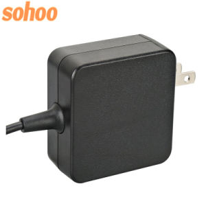 Mini Wall-Mount Type-C Charger Smart IC Laptop Adapter 5V3a 9V3a 12V3a 14.5V3a 15V3a 20V2.25A pictures & photos