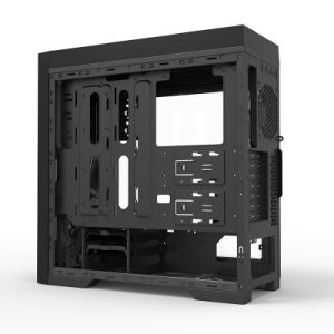 Gaming Case, Full Tower Chassis, Big Window Side Panel pictures & photos