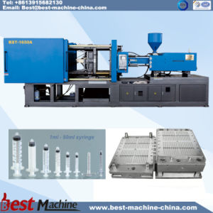 Computer Control High Quality Plastic Disposable Syringe Molding Making Machine pictures & photos