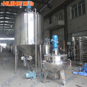 Mirror Polishing Steel Mixing Tank for Food pictures & photos