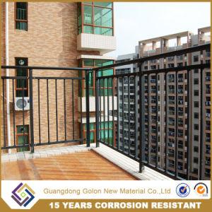 Terrace Railing Design/Prefab Metal Balcony Handrail Baluster/Galvanized  Deck Railing