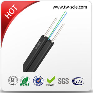 2 Core G657A FTTH LSZH Jacket Drop Cable for Indoor pictures & photos