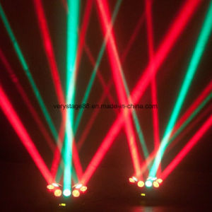 Adj Kaos LED Spider 3X3 PCS 10W Endless Rotation Beam Moving Head pictures & photos