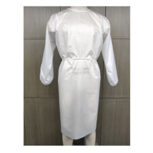 Factory Hot Sale White Coverall Hazmat Suit Protection Safety Clothing in Low Price