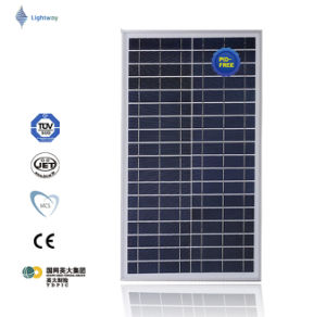 Solar Panel Poly 30W for Street Light, off-Grid System with Good Quality pictures & photos