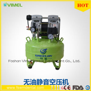 Medical Silent Oilless Dental Oil Free Air Compressor Unit pictures & photos