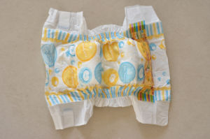 PE Backsheet and PP Tape Baby Diaper pictures & photos