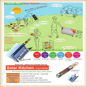 Solar Kitchenware for Camping