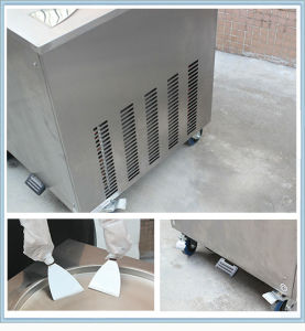 Popular in USA! 2 Pan Durable Fry Ice Cream Machine pictures & photos