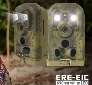 Hunting Camera 12MP HD Weather-Proof White flash Wild Trail Camera