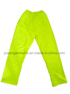 Waterproof 100% PU Rain Safety Reflective Protective Trousers Pants (SPA11)