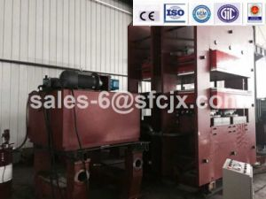 1500 Ton Rubber Vulcanizing Press for Making Rubber Sheet