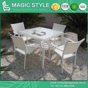 Four Colors Outdoor Dining Chair for Hote Project Patio Dining Chair Cafe Rattan Chair pictures & photos