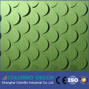 Stadium Building Materials Polyester Fiber Acoustic Panel pictures & photos