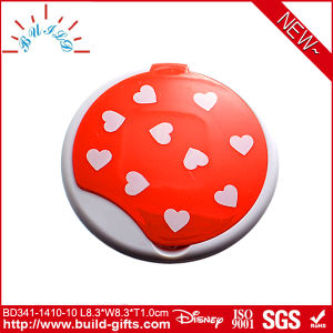 Plastic Pocket Makeup Mirror with Customized Printing