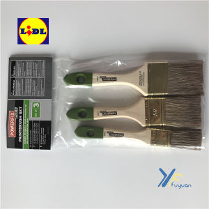 Fy Green Tip Set of Paint Brush- Powerfix Lidl pictures & photos