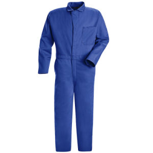 Factory OEM 100% Cotton Red Anti-Acid Coverall pictures & photos