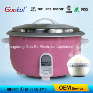 2800W 19L Big Drum Rice Cooker Purple Colour Nonstick Coating Inner Pot pictures & photos