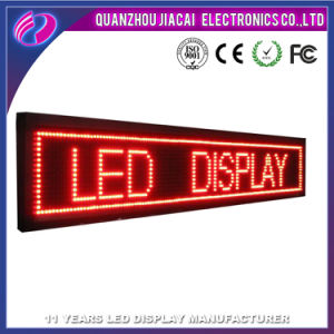 china p10 single red color outdoor programmable led signs china