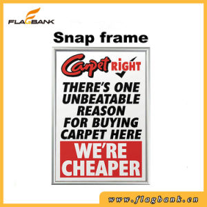 Silver 32mm Aluminium Exhibition Snap Frame/Picture Frame pictures & photos