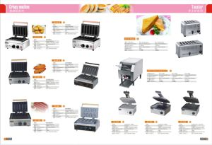 Stainless Steel Toaster Sandwich Toaster Machine for Sale pictures & photos
