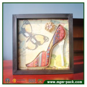 Metal Wall Art 3D Shoes Painting for Decoration pictures & photos