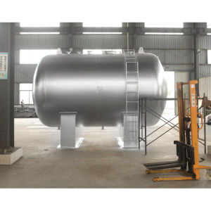1-100 Cube Meter Capacity Horizontal Type Storage Tank for Filling Station