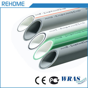 Green Color Plastic PPR Pipe for Hot Water pictures & photos