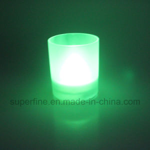 Battery Operated Party Artificial Flameless Wedding Decorative Scented LED Glass Jar Light pictures & photos