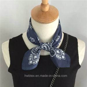 Good Quality Multifunction Paisley Cotton Handkerchief / Magic Bandana (HWBHC02) pictures & photos