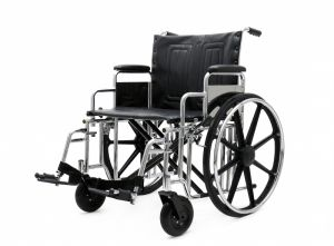 Steel Manual, Bariatric, Wheelchair, Double Cross, (YJ-010B) pictures & photos