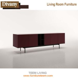 Latest European Designs TV Stand 834 Cabinet With Display Shelf Simple Wooden Furniture