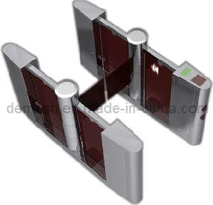 Dual Automatic Swing Barrier Turnstile Gate (AFC-GAT-B18D-6)