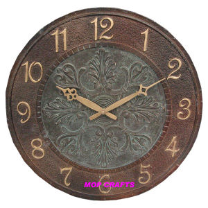 Polyresin Wall Clock, Resin Wall Clock, Garden Wall Clock pictures & photos