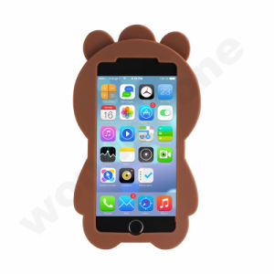 3D Bear Soft Silicon Rubber Phone Case for iPhone 7 pictures & photos