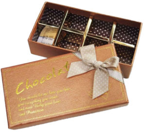 Chocolate Box with Paper Divider (YY--B0010) pictures & photos