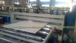 PVC Building Formwork Making Machine