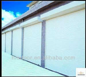Remote Aluminum Rolling Door/Interior Roll Up Door/Rolling Up Garage Door