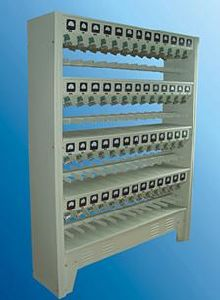 KCLA Series Charger Rack for Li-ion LED Cap Lamp (KCLA-102, KCLA-60, KCLA-36)