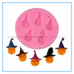 Dto0018 Halloween Pirate Pumpkin Silicone Cake Mold