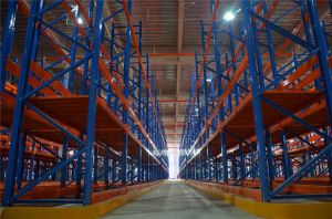 Space Saving Vna Very Narrow Aisle Pallet Racking System for Warehouse