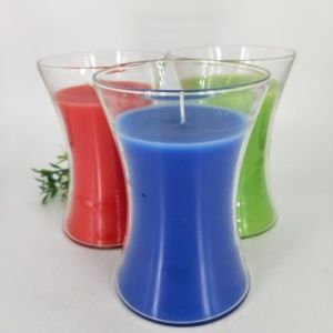 Hot Sale 8 Inches 7 Day Glass Jar Religious Candle Wholesale