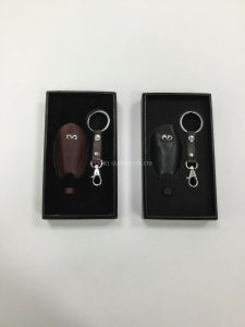 Leather Key Chain Car Design Key Gift Set Customise Branded Key Holder (F1520)