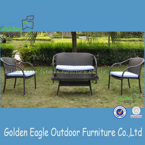 Stackable Agrden Set Furniture with PE Rattan Popular Design